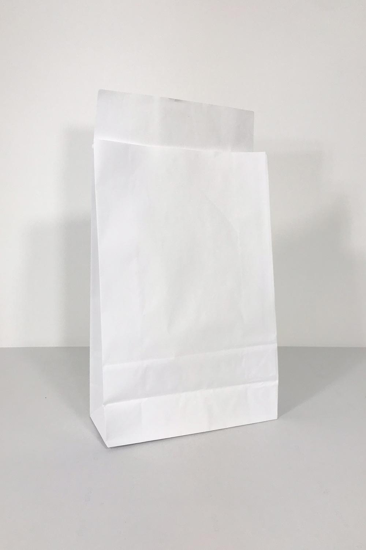 Baskılı Beyaz Kraft Kağıt Hediye Zarfı